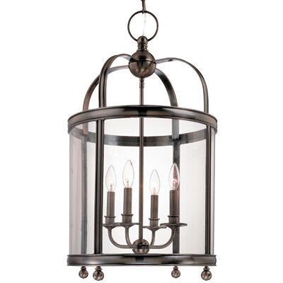 Elyria 4-Light Foyer Pendant Finish: Polished Nickel