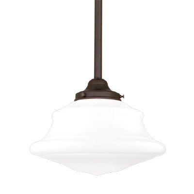Petersburg 1-Light Pendant Finish: Old Bronze