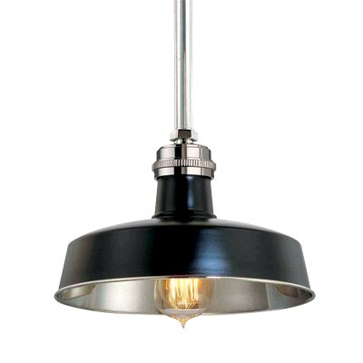 Dimitri 1-Light Pendant Finish: Distressed Bronze