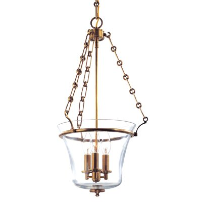 Estelle 3-Light Pendant Finish: Historic Nickel