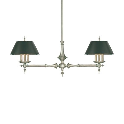 Cheshire 6 Light Kitchen Pendant Lighting Finish: Aged Brass