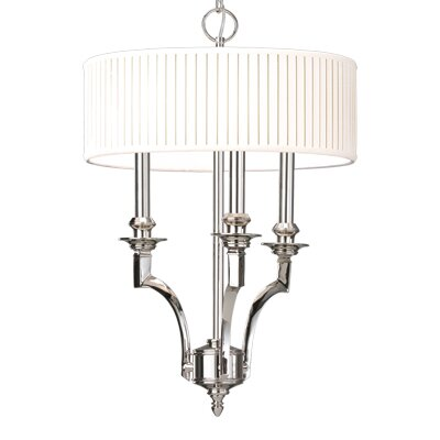 Gherardo 3-Light Drum Pendant Finish: Aged Brass