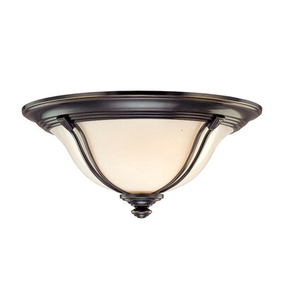 Emjay Flush Mount Size / Finish: 6.5 / Old Bronze