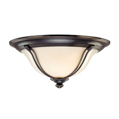 Emjay Flush Mount Size / Finish: 7.25 / Old Bronze