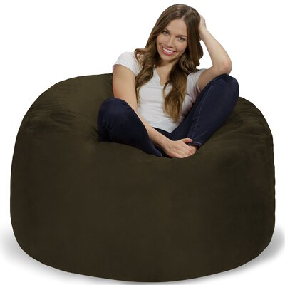 Bean Bag Chair Upholstery: Olive