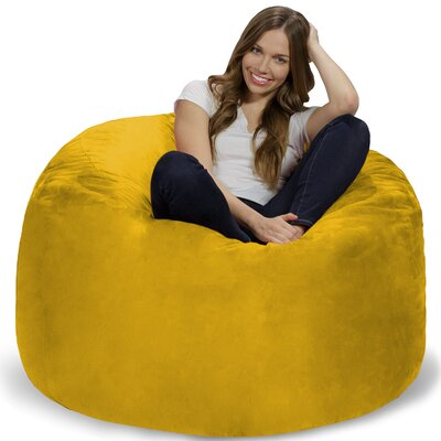 Bean Bag Chair Upholstery: Lemon