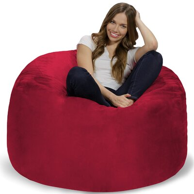Bean Bag Chair Upholstery: Cinnabar