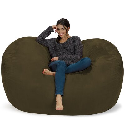 Bean Bag Sofa Upholstery: Olive