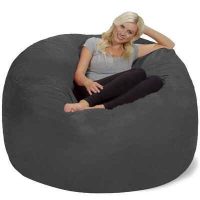 Bean Bag Chair Upholstery: Charcoal
