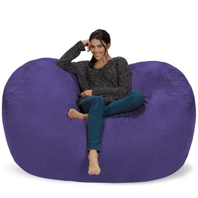 Bean Bag Sofa Upholstery: Purple