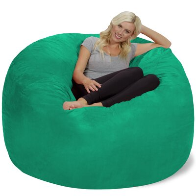 Bean Bag Chair Upholstery: Tide Pool