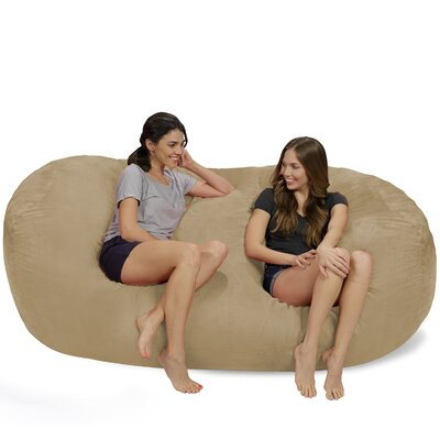 Bean Bag Sofa Upholstery: Camel