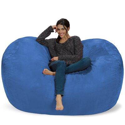 Bean Bag Sofa Upholstery: Royal Blue