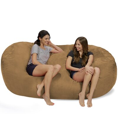 Bean Bag Sofa Upholstery: Earth