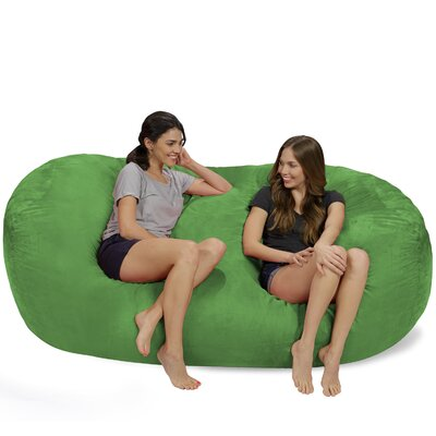 Bean Bag Sofa Upholstery: Lime