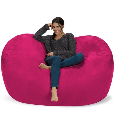 Bean Bag Sofa Upholstery: Pink