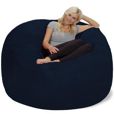 Bean Bag Chair Upholstery: Navy