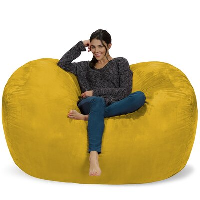 Bean Bag Sofa Upholstery: Lemon