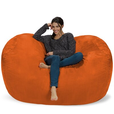 Bean Bag Sofa Upholstery: Orange