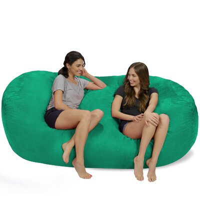 Bean Bag Sofa Upholstery: Tide Pool