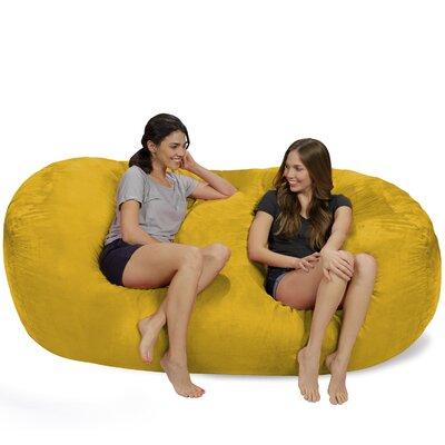 Bean Bag Sofa Upholstery: Lemon