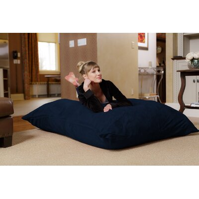 Bean Bag Lounger Upholstery: Navy