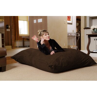 Bean Bag Lounger Upholstery: Chocolate