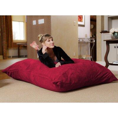 Bean Bag Lounger Upholstery: Cinnabar