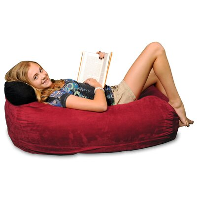 Bean Bag Sofa Upholstery: Cinnabar