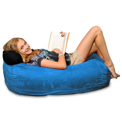 Bean Bag Sofa Upholstery: Royal Blue