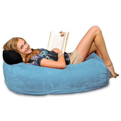 Bean Bag Sofa Upholstery: Sky Blue