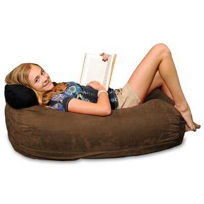 Bean Bag Sofa Upholstery: Chocolate