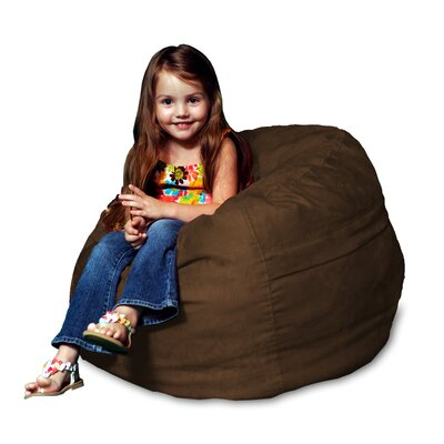 Bean Bag Chair Upholstery: Chocolate