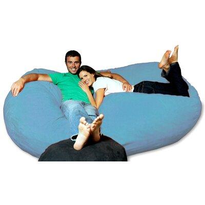 Bean Bag Sofa Upholstery: Sky Blue