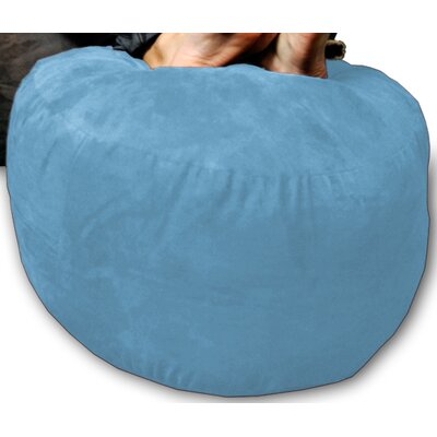 Bean Bag Chair Upholstery: Sky Blue