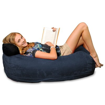 Bean Bag Sofa Upholstery: Navy