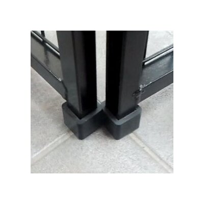 Single Yard Kennel Rubber Foot