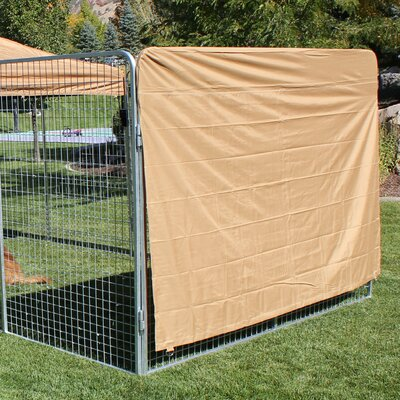 Basic Heavy Duty Yard Kennel Side Cover Size: 60 H x 72 W