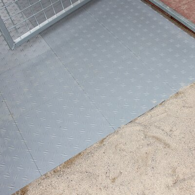 Basic Yard Kennel Tile Flooring System Size: 0.5 H x 96 W x 168 L