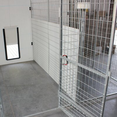 Anti - Fight Single Yard Kennel Panel Upgrade Size: 72 H x 1 W x 96 L