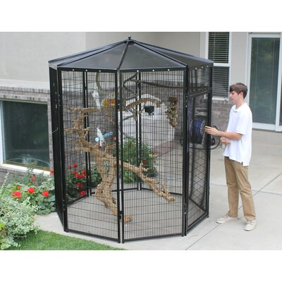 8 Sided Bird Aviary