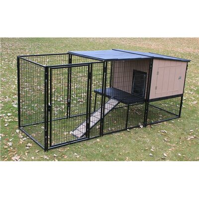 Castle Run Kennel Size: 4 x 8