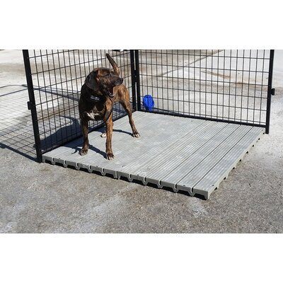 Section Yard Kennel Raised Flooring System
