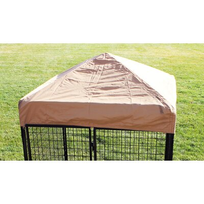 Basic Heavy Duty Yard Kennel Top Size: 18 H x 72 W x 72 D