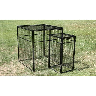 Double Door System Kennel