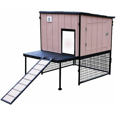 Urban Coop with Roosting Bar