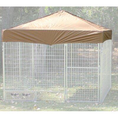 Basic Heavy Duty Yard Kennel Top Size: 18 H x 72 W x 72 D