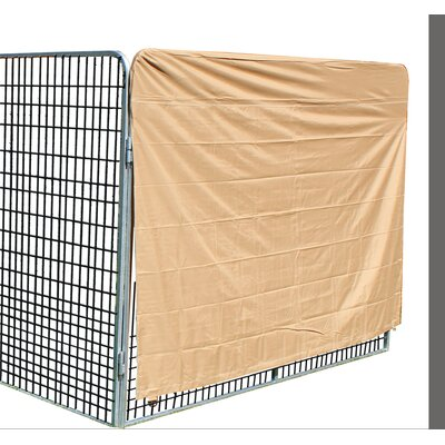 Ultimate Heavy Duty Yard Kennel Side Cover Size: 60 H x 96 W x 192 D