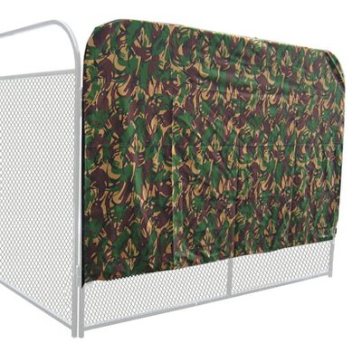 Ultimate Heavy Duty Yard Kennel Side Cover Camouflage Size: 60 H x 96 W x 192 D