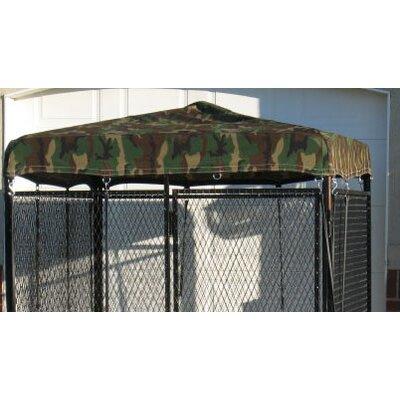 Basic Heavy Duty Yard Kennel Top Size: 18 H x 72 W x 96 D